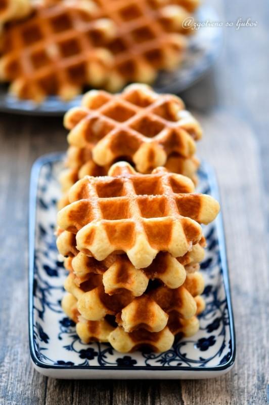 Лиешки вафли (белгиски вафли)