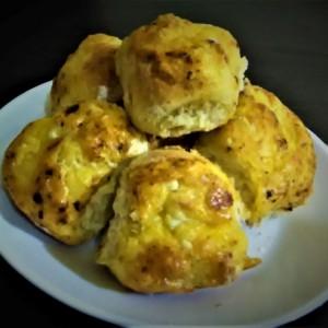 Лебчиња со димен кашкавал (без квасец)