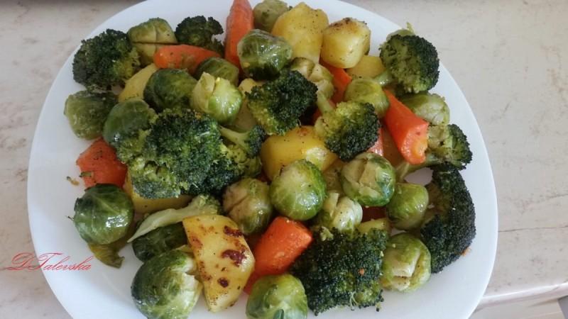 Потпечен зеленчук