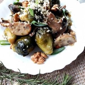 Прокељ со печурки и ореви (посно)