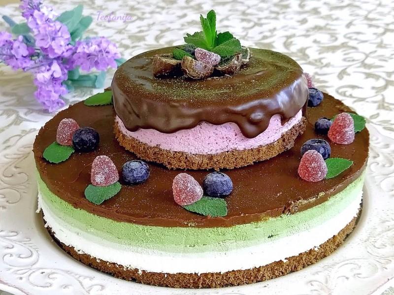 Мача торта  (1000-ти јубилеен рецепт) (без печење)