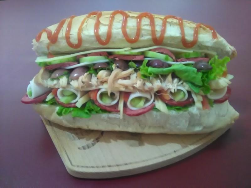 Домашен ладен сендвич