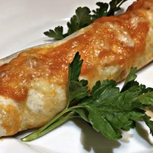 Енчилада - тортиљи со пилешко месо