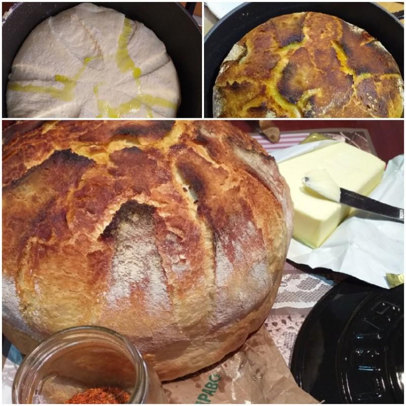 Лава леб со маслиново масло