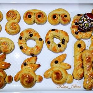 Кулуракија - грчки велигденски колачиња со амонија