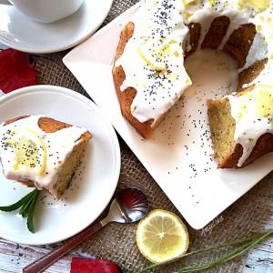 Круглов колач со афион и лимон