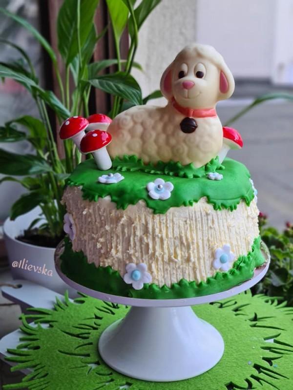Велигденска торта (декорација )