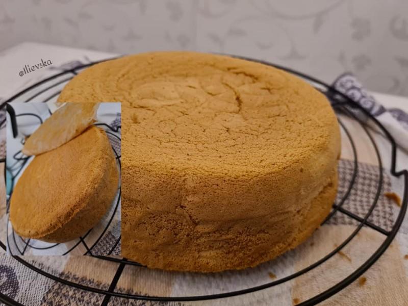 Памук пандишпан тесто (без пециво )