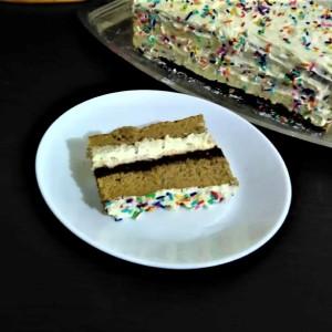 Брза чоко ванила торта