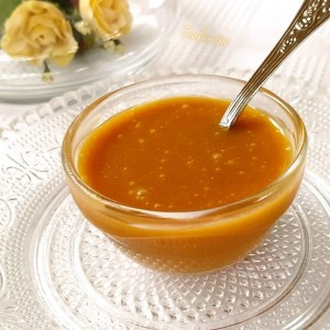 Солен карамел прелив(по рецепт на Марта Стјуарт)