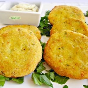 Плескавици од наут и компири