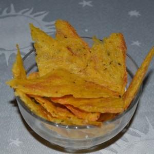Домашен чипс од палента