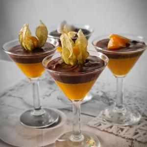 Десерт пудинг во чаша