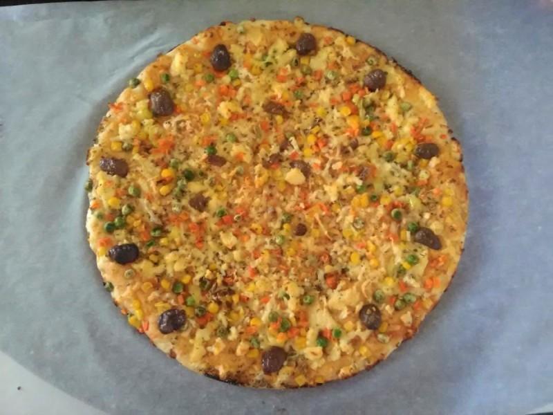 Домашна вегетаријанска пица