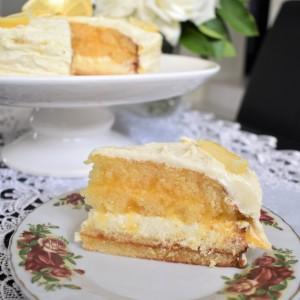 Торта со крем од лимон