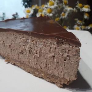 Чоколаден чизкејк (без печење)