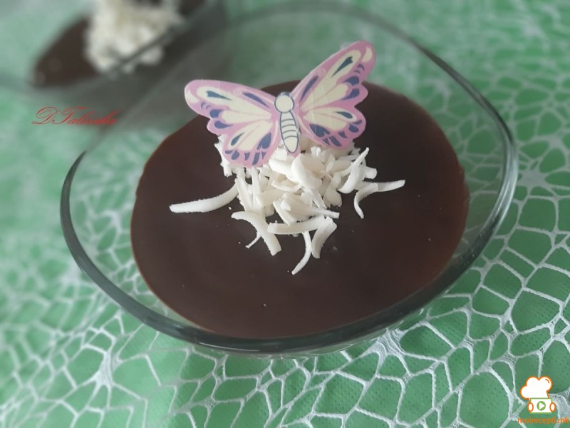 Домашен пудинг од чоколадо