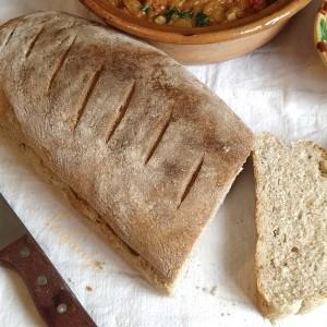 Леб со грахам брашно