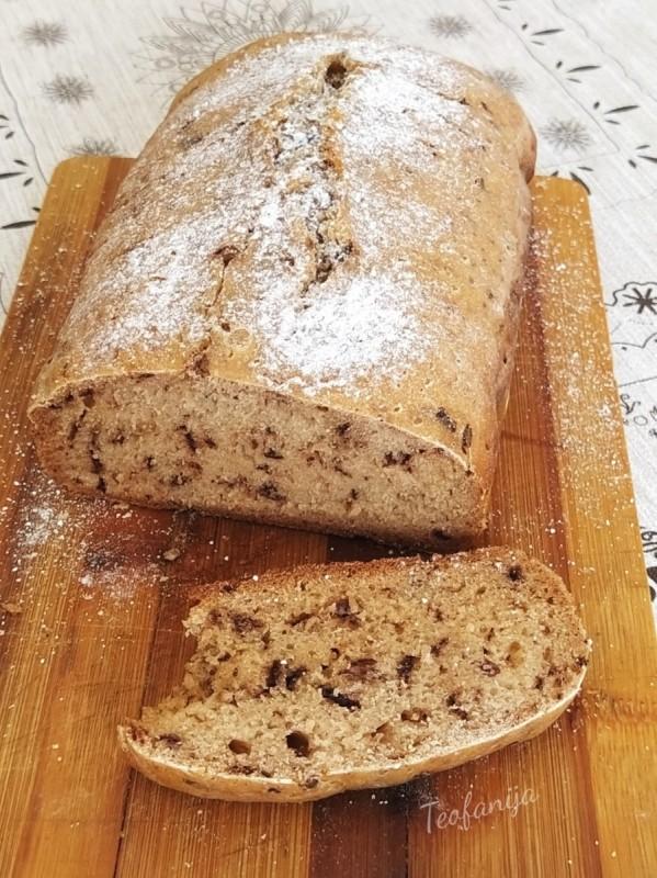 Сладок леб од апарат (посно)