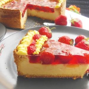Овошна торта со пудинг