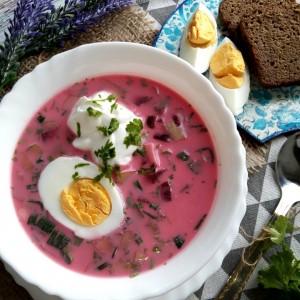 Ладна супа од цвекло (свеколник) - украинска кујна