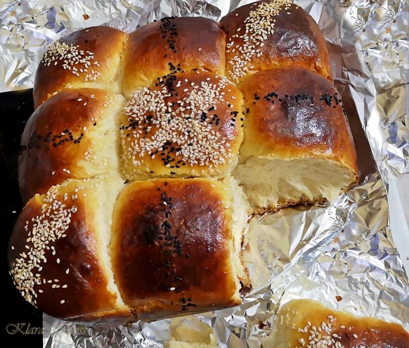 Сладок леб со кондензирано млеко