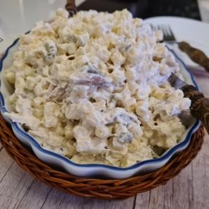 Кремаста пилешка салата