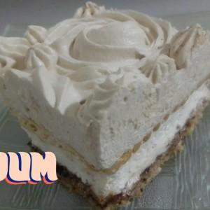 Кремаста торта со ореви