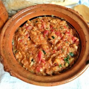 Пинџур со тиквички ( печен зеленчук во  Air Fryer Апарат за готвење со топол воздух)