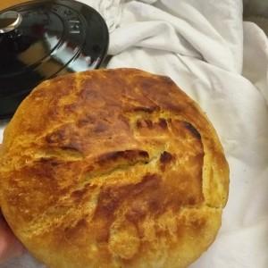 Пченкарен леб со пециво