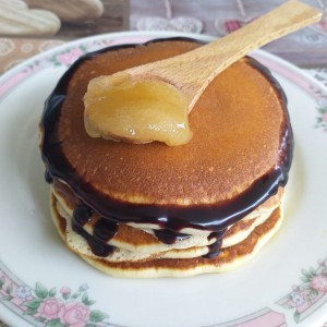 Американски палачинки со мед
