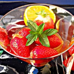 Мароканска салата-десертна