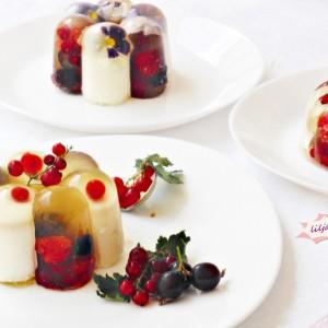 Желиран овошен десерт