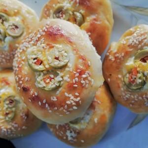 Гнезда со маслинки и намаз