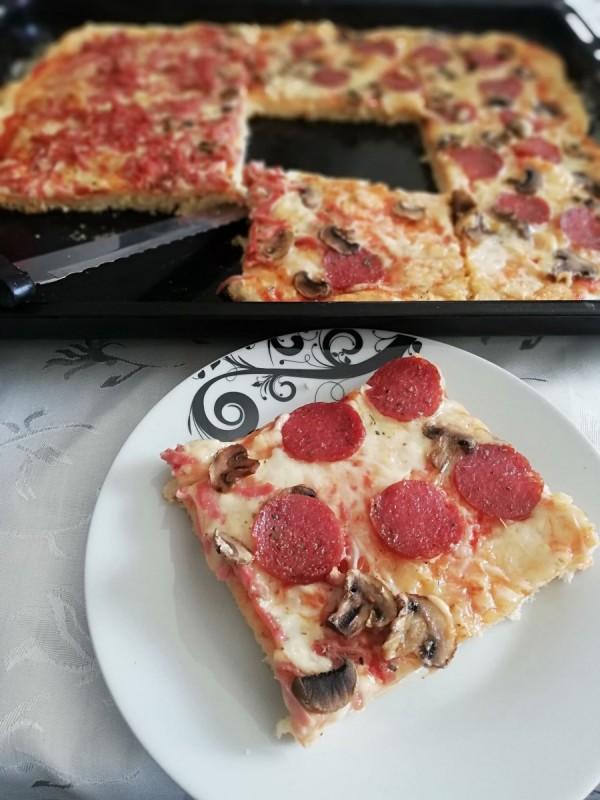 Превкусна пица со прашок за пециво