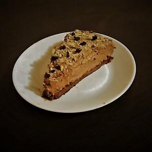 Брз чоко колач со ореви (без печење)