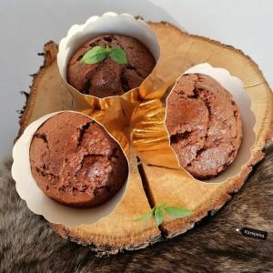Чоколадни мафини со тиквичка и цимет