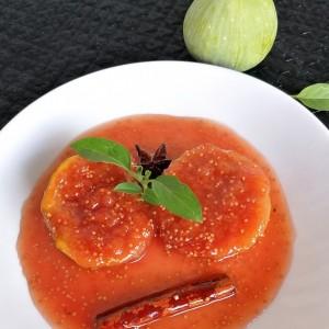 Медитерански смокви во  ароматичен сос