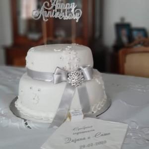 Свечена торта
