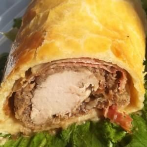 Свинско филе во лиснато тесто