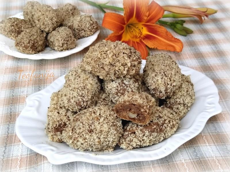 Шербет колачиња со цимет и ореви (посно, веган)