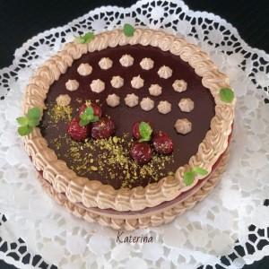 Чоколадно задоволство со вишни (јубилеен 1600 рецепт)