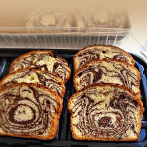 Мраморен кекс