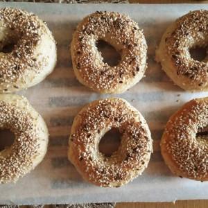Домашни багел печива - ѓевречиња (посно, веган)