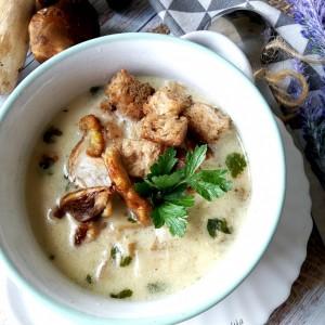 Супа од вргањ и павлака