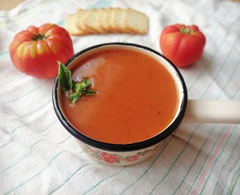 Супа од домати (посно, веган)