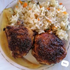 Пилешки подкопани со слатко-кисел вкус