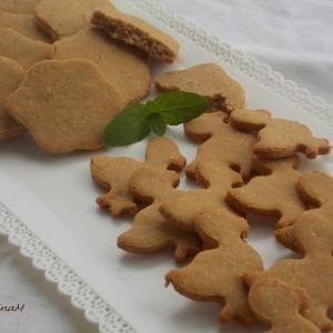 Бисквитни колачиња со кокос (без глутен)