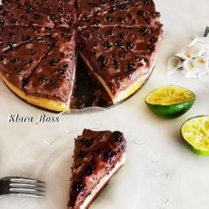 Сир торта со капини и чоколадо