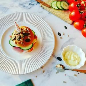 Лепчиња за ладен сендвич/хамбургер